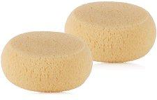 Натурални гъби за баня - Комплект от 2 броя, подходящи за бебета и деца -