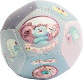 """Мека топка - Опашатковци - Бебешка играчка от серията """"Les Pachats"""" - играчка"""