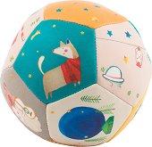 """Мека топка -Животни - Бебешка играчка от серията """"Les Zig et Zag"""" -"""