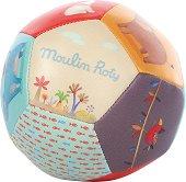 """Мека топка - Приказен свят - Бебешка играчка от серията """"Les Papoum"""" -"""