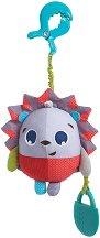 """Таралежчето Мария - Плюшена играчка с вибрация за детска количка и легло от серията """"Малки откриватели"""" -"""