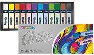 """Сухи пастели - Комплект от 12 или 24 цвята от серията """"Artist"""""""