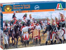 Австрийски и руски генерали - Комплект от 39 фигури -