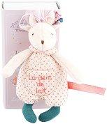 """Мишле - Мека играчка за бебе от серията """"Il Etait Une Fois"""" - количка"""