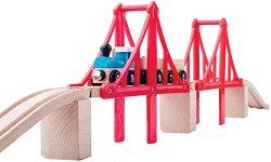 Мост - Детска играчка от дърво и пластмаса -