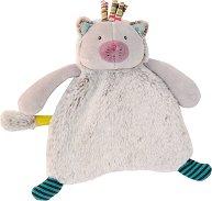 """Коте - Плюшена играчка за бебе от серията """"Les Pachats"""" -"""