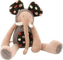 """Слонче - Плюшена играчка за бебе от серията """"Les Zazous"""" - играчка"""