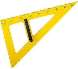 Разностранен правоъгълен триъгълник за дъска