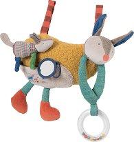 """Куче - Плюшена играчка с дрънкалка от серията """"Les Zig et Zag"""" - играчка"""