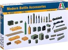 Съвременни военни аксесоари - Комплект сглобяеми фигури -