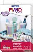 Полимерна глина - Бонбонени цветове - Комплект от 6 цвята по 57 g