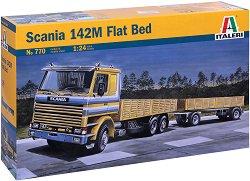 Камион - Scania 142M Flat Bed -