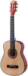 Класическа китара - Детски музикален инструмент от дърво -