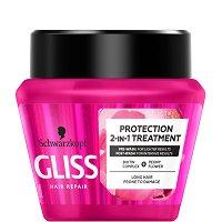 """Gliss Supreme Length Intensive Mask - Маска за дълга коса с цъфтящи краища от серията """"Supreme Length"""" - масло"""