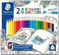 """Цветни моливи - Ergo Soft 157 - Комплект от 24 или 36 цвята от серията """"#MyCreativeEscape"""""""