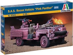 """Британски военен автомобил - S.A.S """"Pink Panther"""" - Сглобяем модел -"""