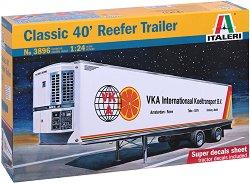 Хладилно ремарке - Reefer Trailer 40ft - Сглобяем модел - макет