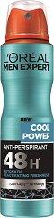 L'Oreal Men Expert Cool Power Anti-Perspirant - Дезодорант против изпотяване за мъже - шампоан