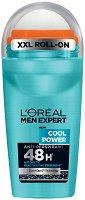 L'Oreal Men Expert Cool Power Anti-Perspirant - Ролон дезодорант против изпотяване за мъже - душ гел