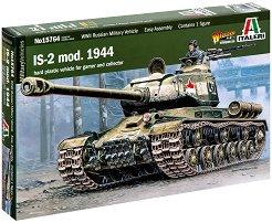 Съветски танк - ИС-2 модел от 1944 - Сглобяем модел -