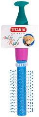 Кръгла детска четка за коса - детски аксесоар