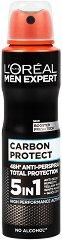 L'Oreal Men Expert Carbon Protect 4 in 1 Anti-Perspirant - Дезодорант против изпотяване за мъже -