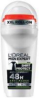 L'Oreal Men Expert Shirt Protect Anti-Perspirant - Ролон дезодорант за мъже против изпотяване и петна по дрехите - продукт