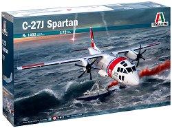 Италиански военен транспортен самолет - C-27J Spartan - Сглобяем авиомодел -