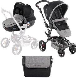 Бебешка количка 2 в 1 - Epic Matrix Light 2 - С 4 колела -