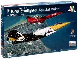 Американски изтребител-прехващач - F-104G Starfighter Special Colors - Сглобяем авиомодел -