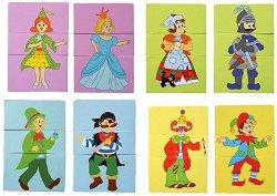 Приказни герои - пъзел