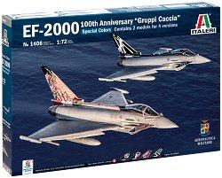 """Европейски изтребител - EF-2000 """"Centenario Gruppi Caccia"""" - Комплект от 2 сглобяеми модела -"""