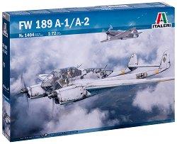 Германски разузнавателен самолет - FW 189 A-1/A-2 - Сглобяем авиомодел -
