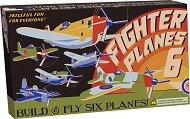 Самолети - Детски картонени играчки за сглобяване - творчески комплект