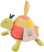"""Костенурка - Плюшена играчка от серията """"Les Papoum"""" -"""
