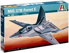 Съветски изтребител - МиГ 37Б Ferret E - Сглобяем авиомодел -