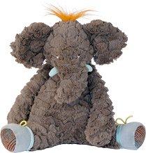 """Слонче - Плюшена играчка за бебе от серията """"Les Roty Moulin Bazar"""" - играчка"""