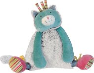 """Коте - Музикална плюшена играчка за бебе от серията """"Les Pachats"""" - играчка"""