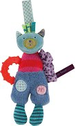"""Коте - Мека играчка с дъвкалка от серията """"Jolis pas Beaux"""" -"""