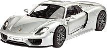 Спортен автомобил - Porsche 918 Spyder - Сглобяем модел -