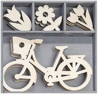 Дървени фигурки - Пролет