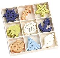 Фигурки от филц - Океан - Комплект от 45 броя в кутия