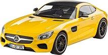 Спортен автомобил - Mercedes AMG GT - Сглобяем модел -