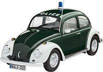 Полицейска кола - Volkswagen Beetle - Сглобяем модел -