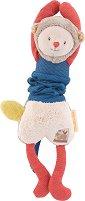 """Маймунка - Вибрираща плюшена играчка за бебе от серията """"Les Papoum"""" -"""