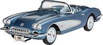 Ретро автомобил - Chevrolet Corvette C1 - Сглобяем модел - макет