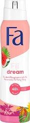 Fa Island Vibes Fiji Dream Anti-Perspirant - Дезодорант против изпотяване с аромат на диня и иланг-иланг - шампоан