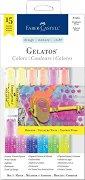 """Акварелни пастели - Brights - Комплект от 15 части от серията """"Gelatos"""""""