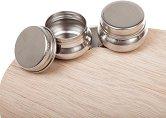 Двойна ваничка - Аксесоар за дървена палитра