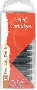 Пълнители за калиграфски писалки - Комплект от 12 броя х 30 ml